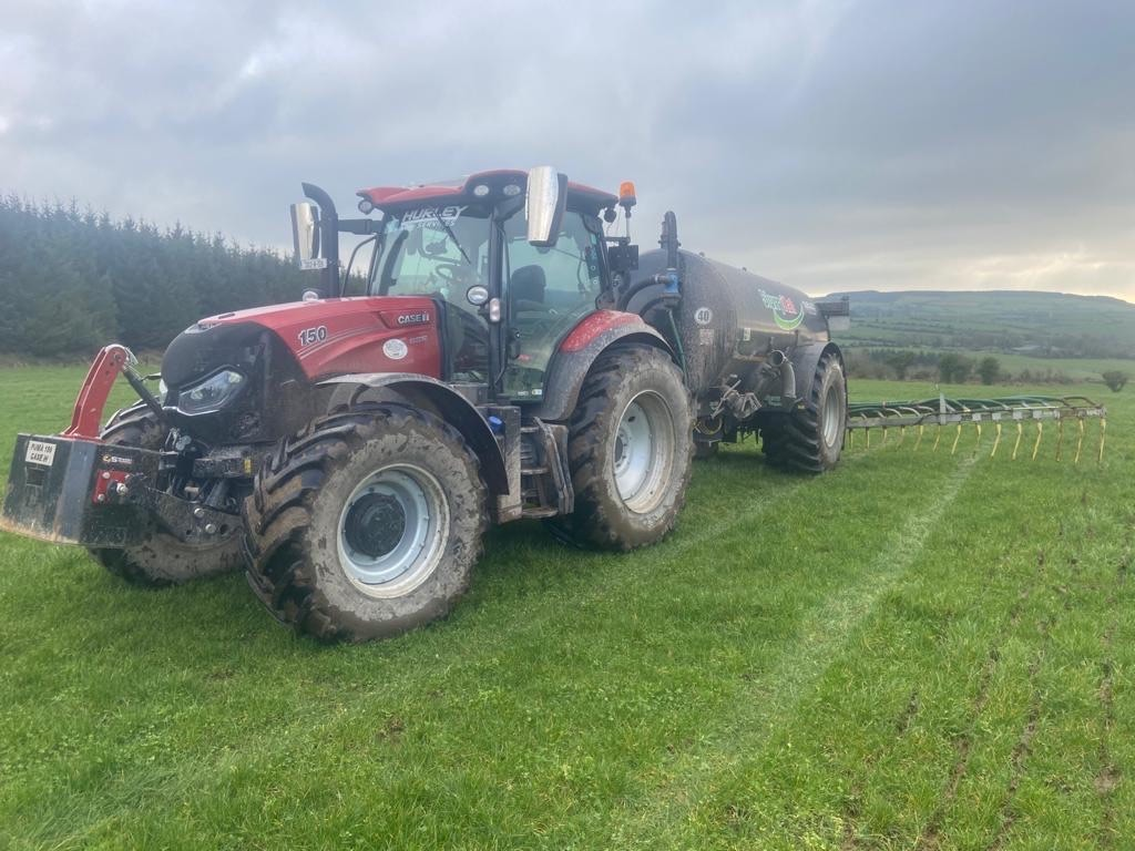 Hurley Agri Services, slurry spreading,