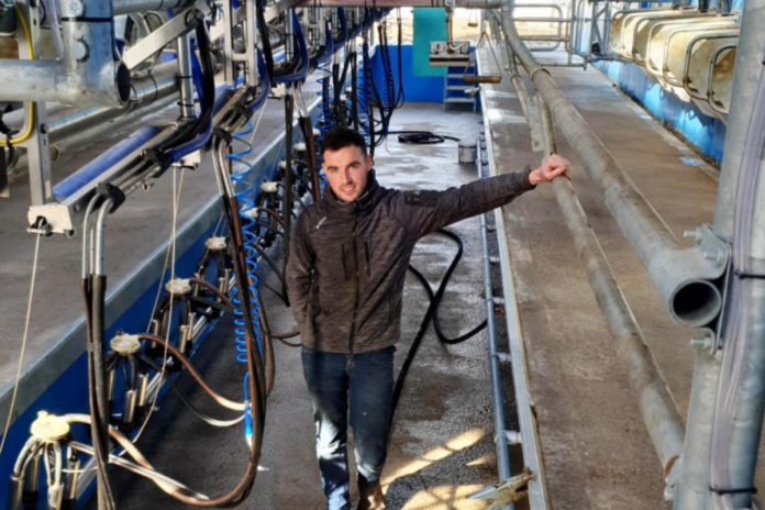 Philip Roche, dairy farmer, dairy farming, dairy cows, DeLaval parlours