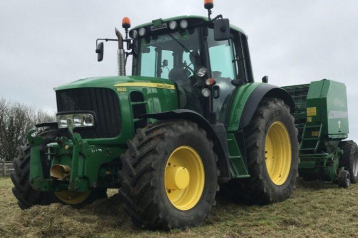 Silage, John Deere, tractors, machinery,
