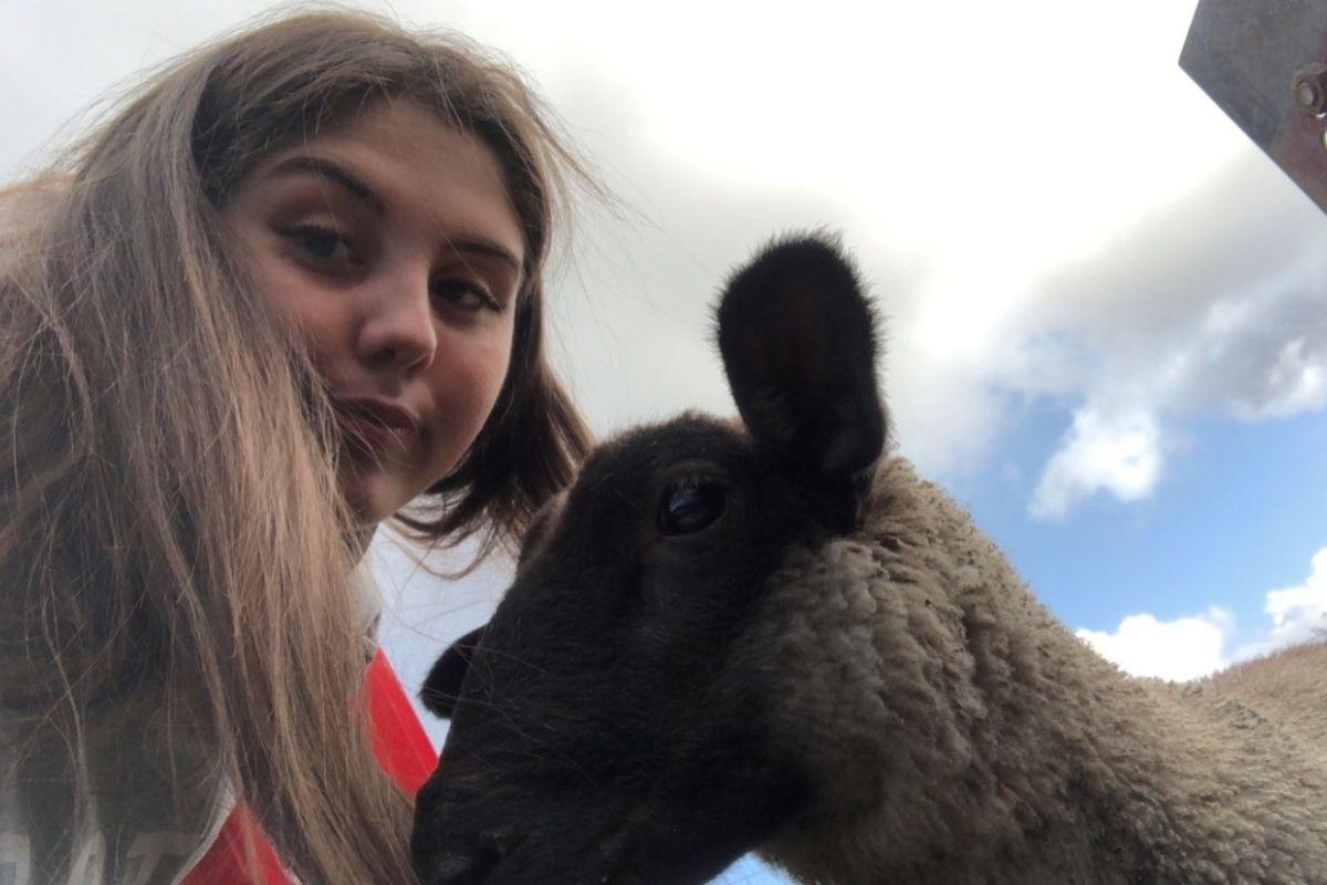 farm girl, farming, Chloe McGinty,