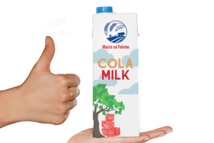 Cola Milk™, Macra na Feirme, dairy farming, milk Ireland