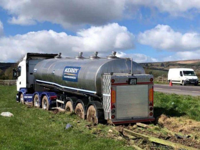 Limerick, milk lorry