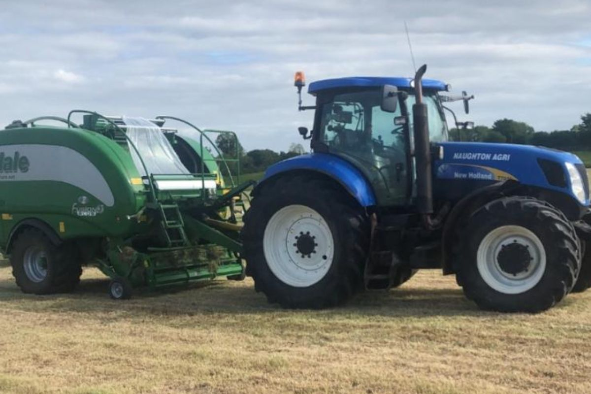 Naughton Agri, New Holland, McHale baler, silage