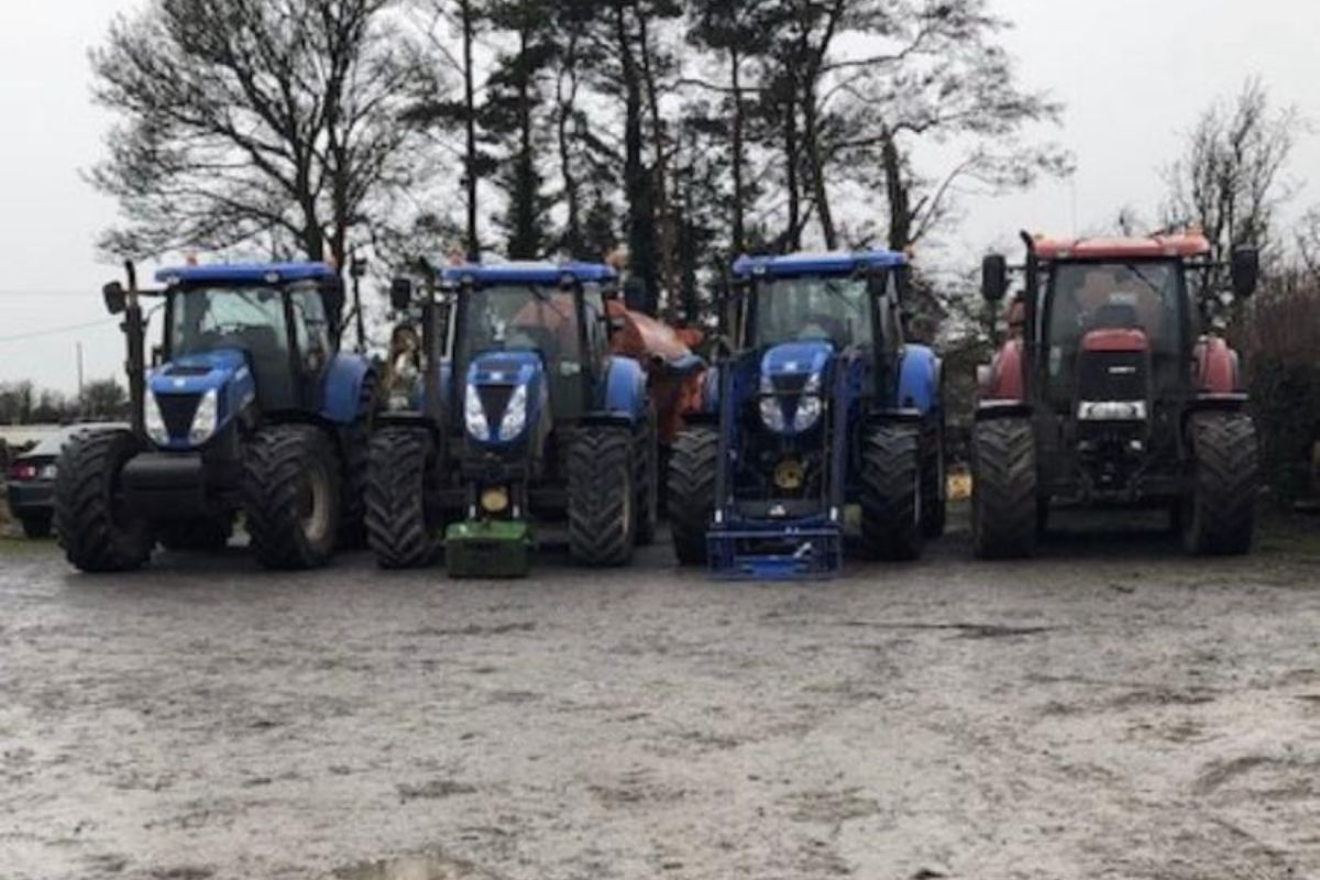 tractors, New Holland, agricultural contracting