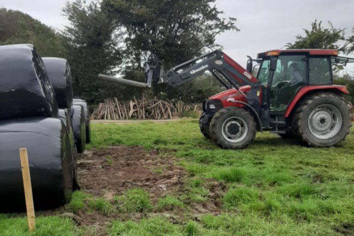 farm girls, tractors, silage,