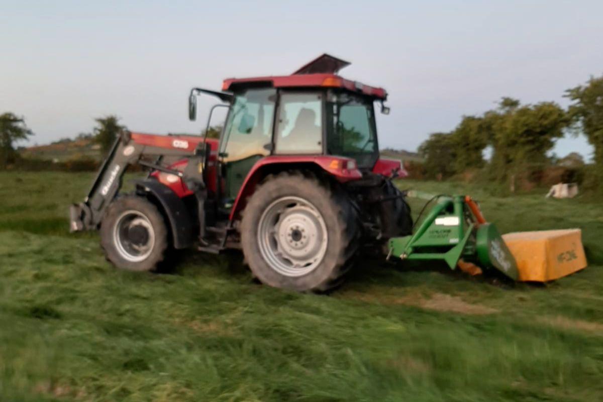Elaine Kennedy, farmer, farm girl, women in ag, Tractor