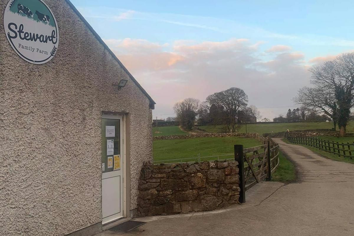 Stewart Family Farm Shop, beef farming, beef farmers,