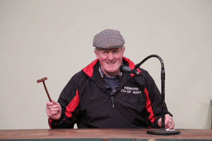 Dan McCarthy, livestock auctioneer,