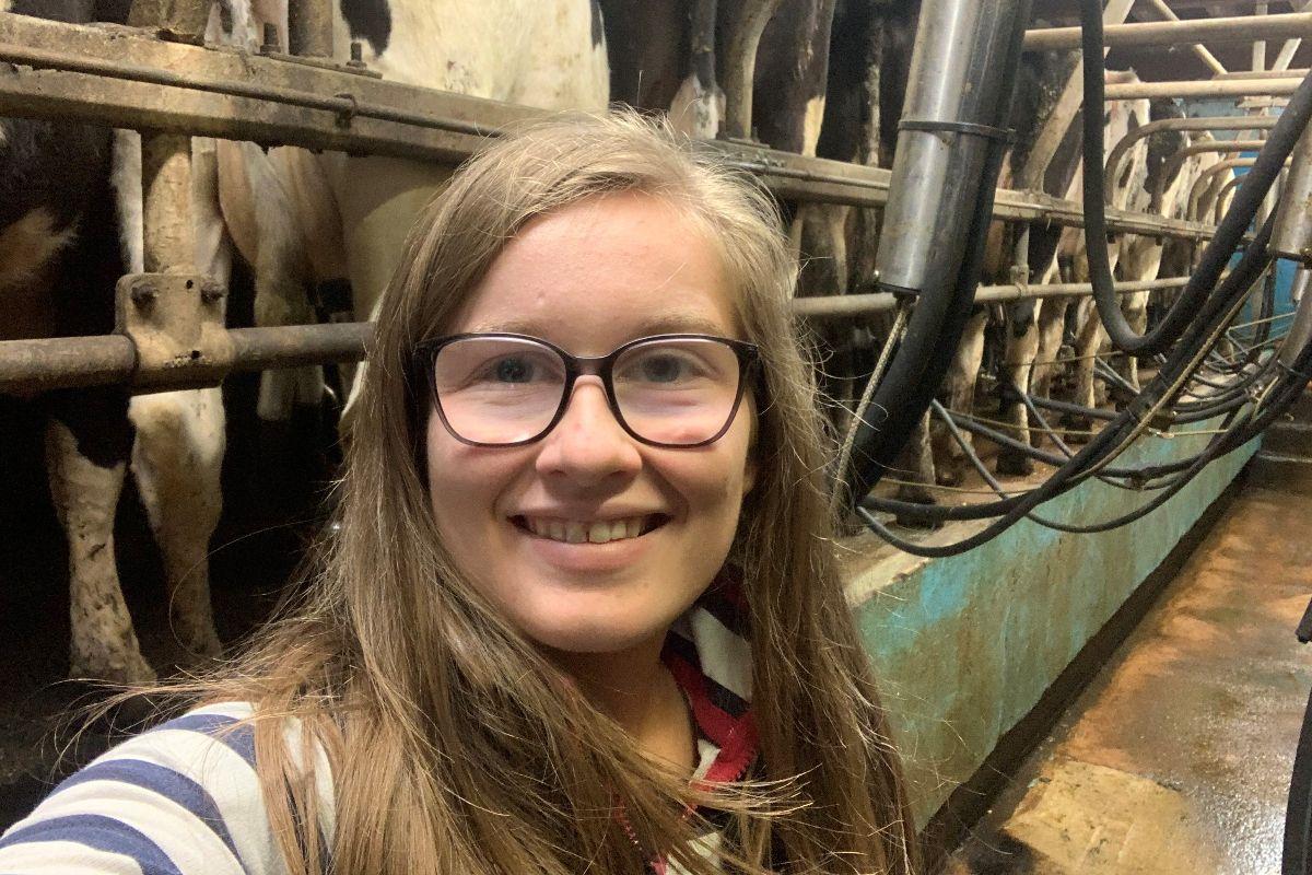 Joyce Allen, dairy news, farm girls, dairy cows
