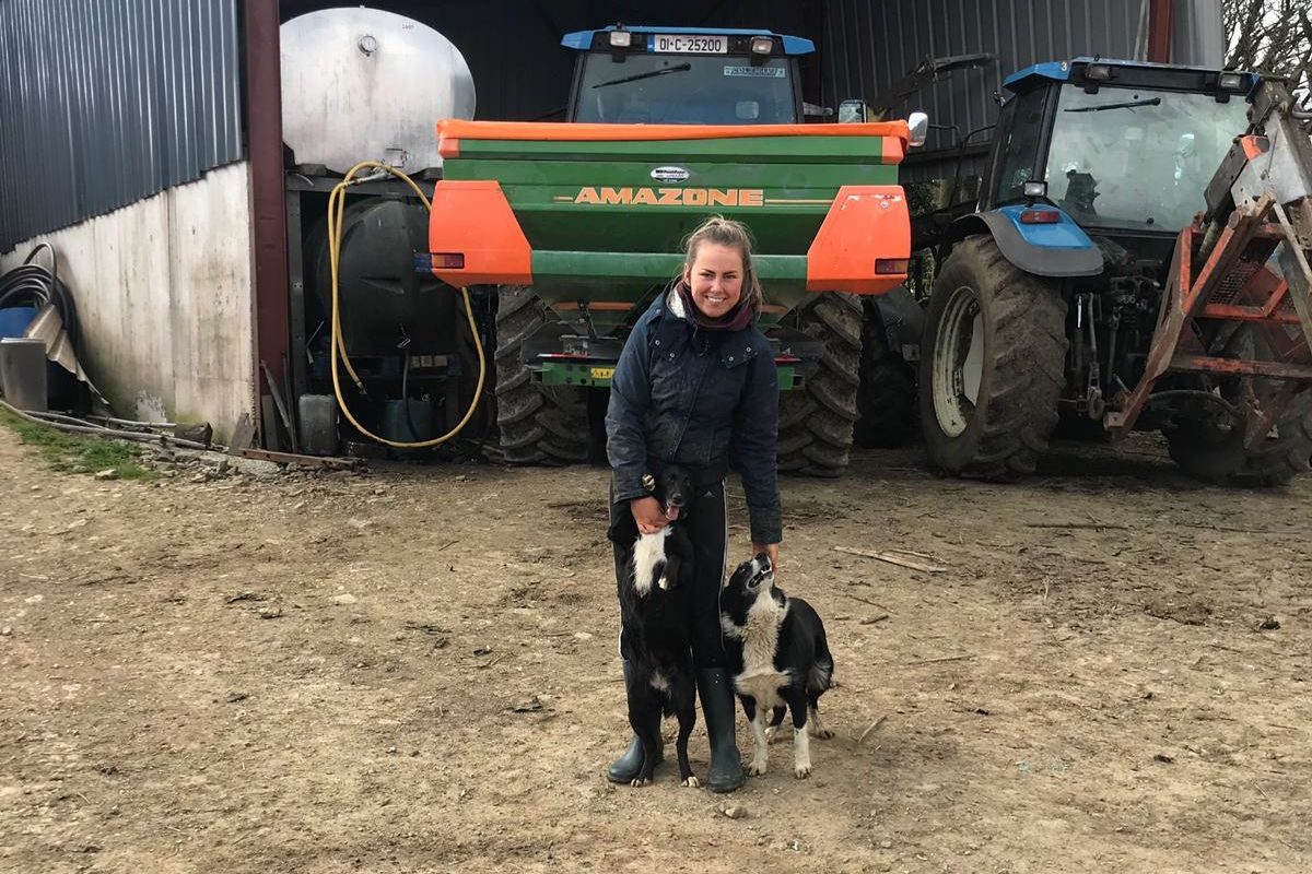 machinery, farm girl, women in ag