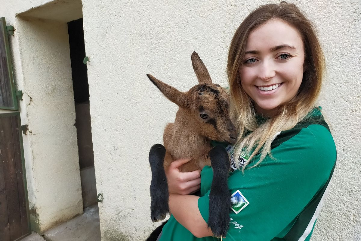 Gardiner family, goats, goat farming, goat farmers