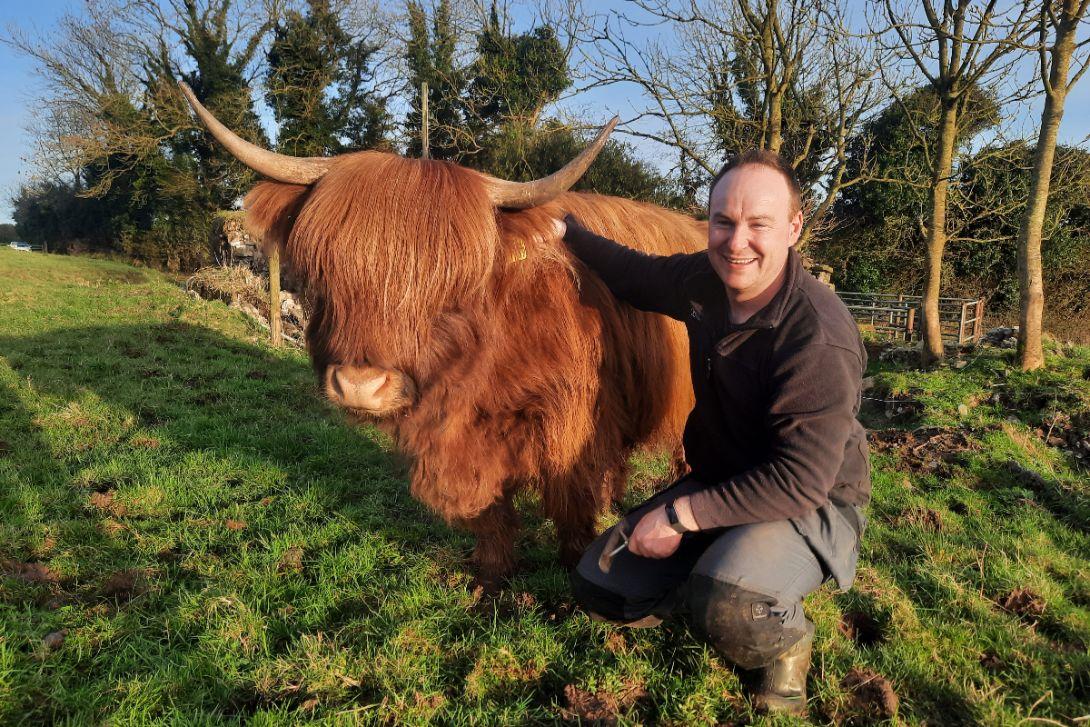 Highland cattle, Michelle Shaughnessy, 30-cow suckler herd