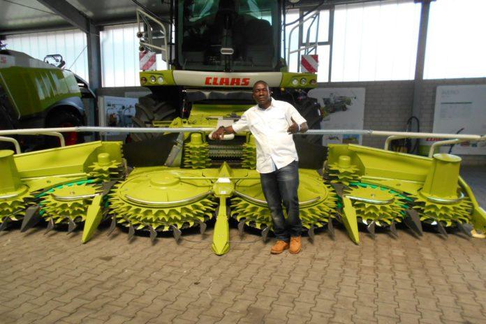 Moses Hategeka, farming in Africa,