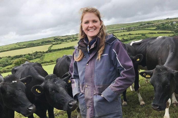 Amy Eggleston, dairy farming, dairy farmer, dairy news, farm news, farming news UK, farming UK