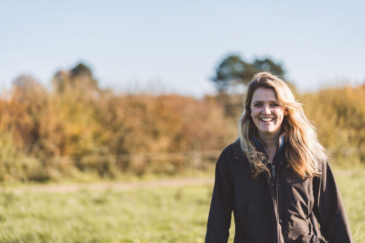 Amy Eggleston, dairy farmer, farm girls, women in ag