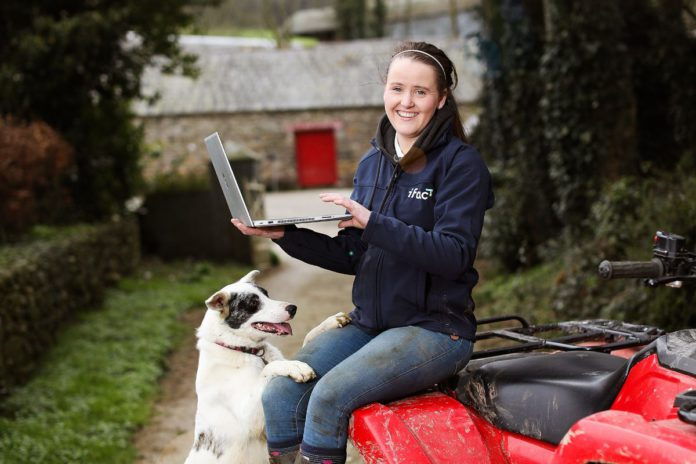 Dairy entrepreneur, Maighréad Barron, on her Co. Waterford farm launching ifac's annual Farm Report