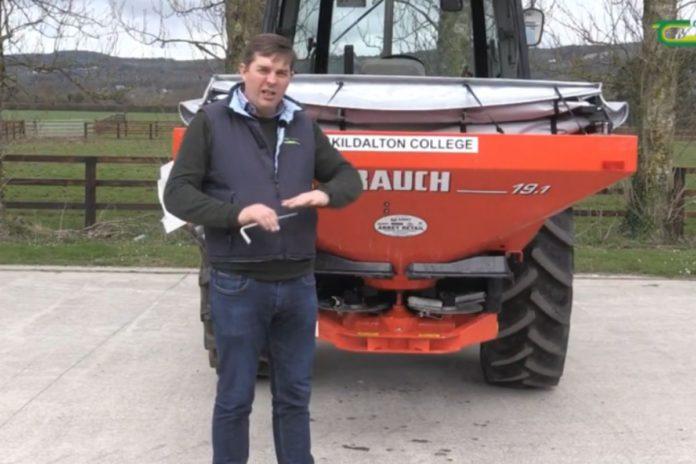 fertiliser spreading, grassland management, farming news