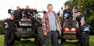 tractor driving, Tom Pemberton,The Fast And The Farmer(ish)