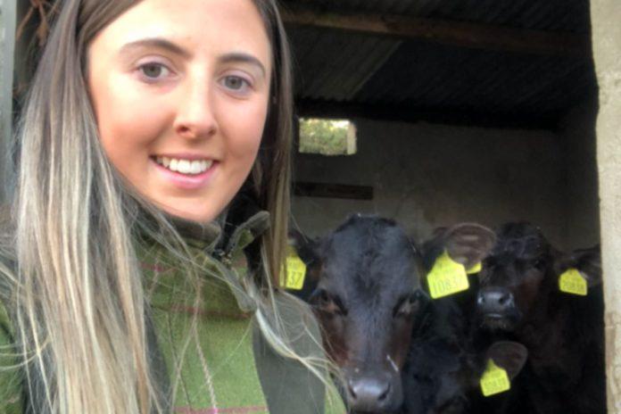 Sinead Canny, 40-cow suckler farmer, Aberdeen Angus
