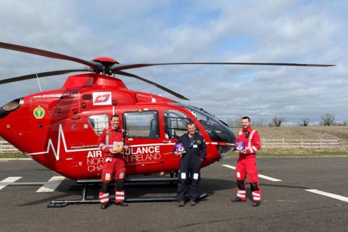 Northern Ireland, air ambulance,