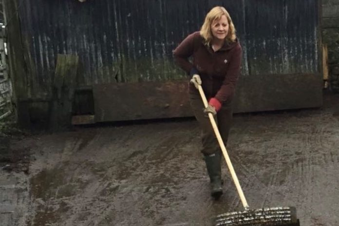 Elaine Adams, farm girls, women in agriculture, women in farming