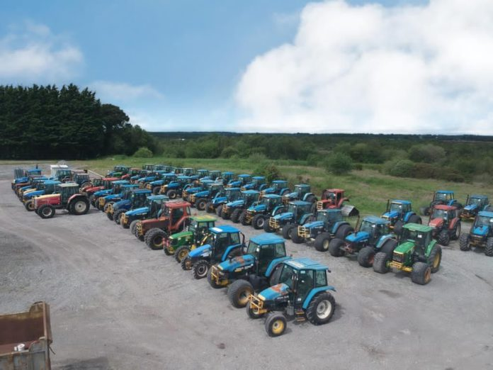 Bord na Mona, machinery auction, machinery for sale, tractors for sale, tractors