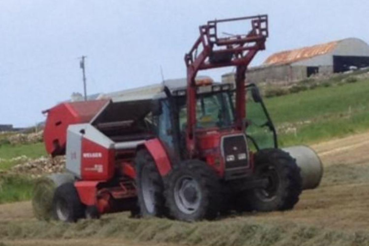 Johnny Lyne Agri and Plant Hire, farm machinery, tractors