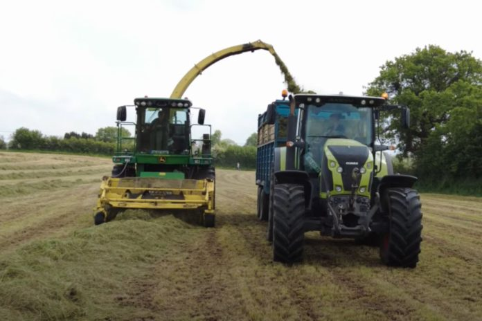 Bracken Agri, tractor videos, silage 2021, agricultural contracting