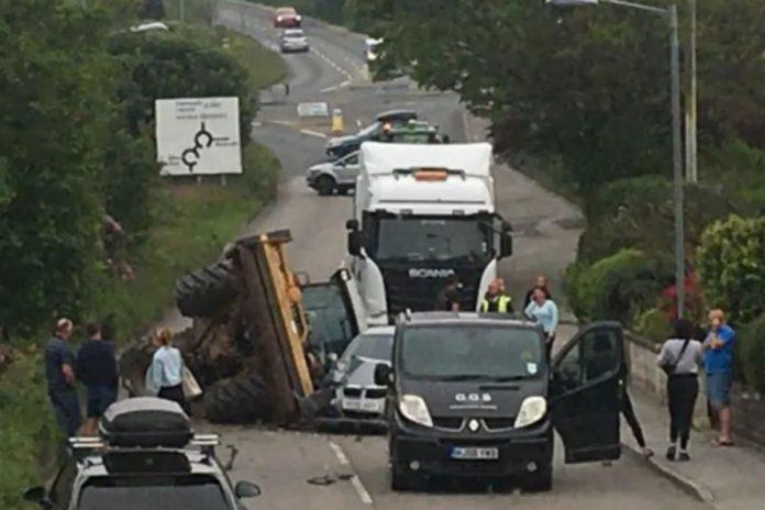 farming news, tractor, road traffic collision,