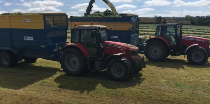 Kileen Bros, agricultural contracting, agricultural contractors, tractor videos