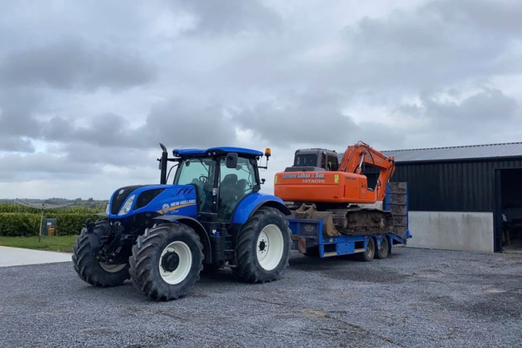 Roscommon, farming news, Anthony Lohan and Son, agricultural contractor. tractors