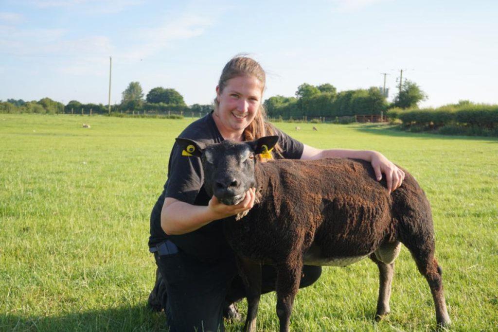 farm girl, women in ag, women in farming, full-time sheep farmer, The Curragh,