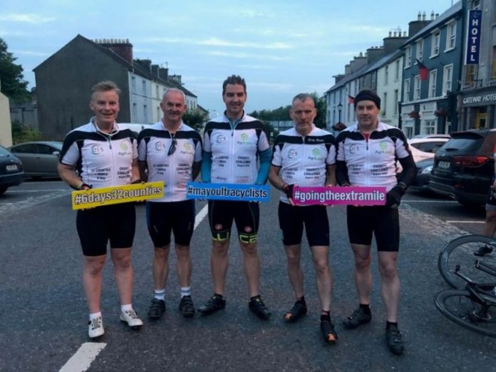 Mayo Ultra Cyclists, charity, farming news, Lely Center