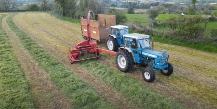 tractors, farm machinery, Ford,