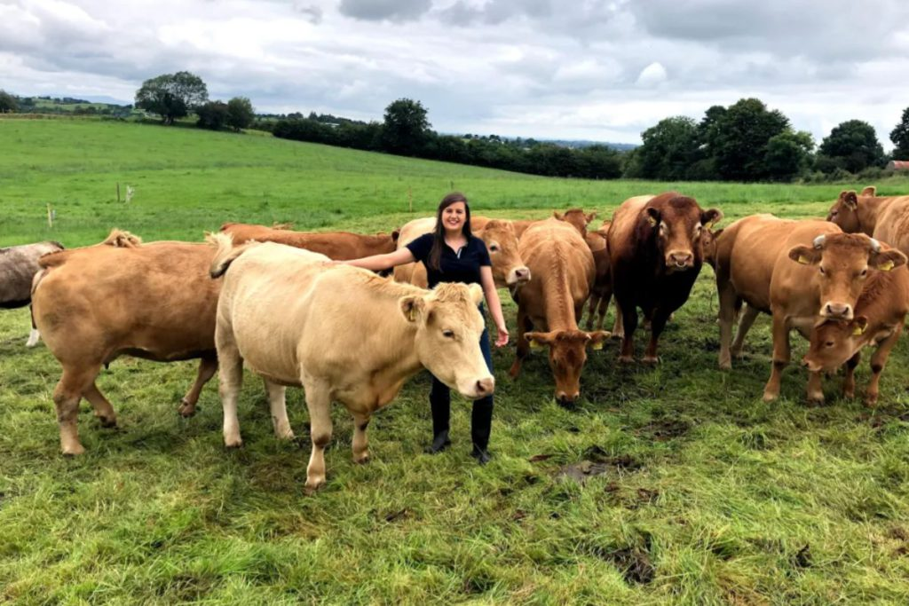 Women in ag: Limousin and Hereford breeder, Annie Brady, Cavan, graduated from DkIT/ Ballyhaise Agricultural College and is an FRS employee.