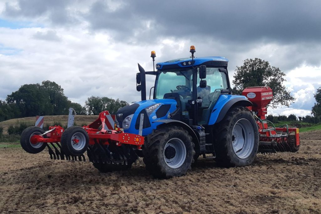 David Corrigan Agri Services, farming news, Longford, agricultural contracting,