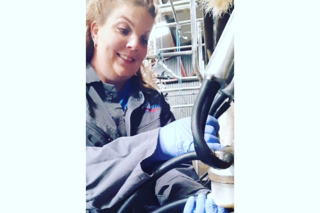 Farm girl, Susan Langrell, from Wicklow works in childcare and is a part-time dairy farmer
