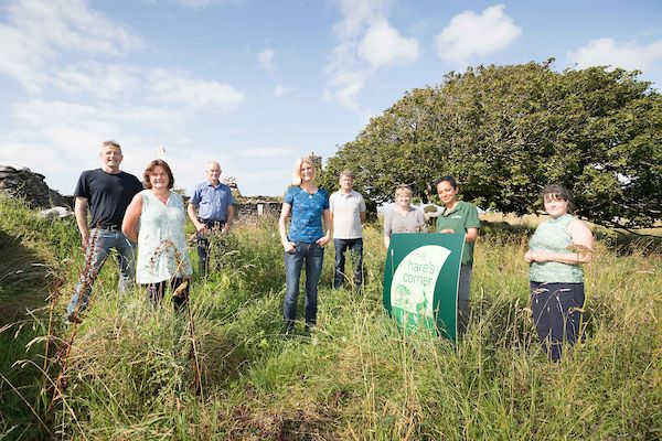 """The Hare's Corner, a new pilot project in Co. Clare is set to help landowners """"make more space for nature""""."""