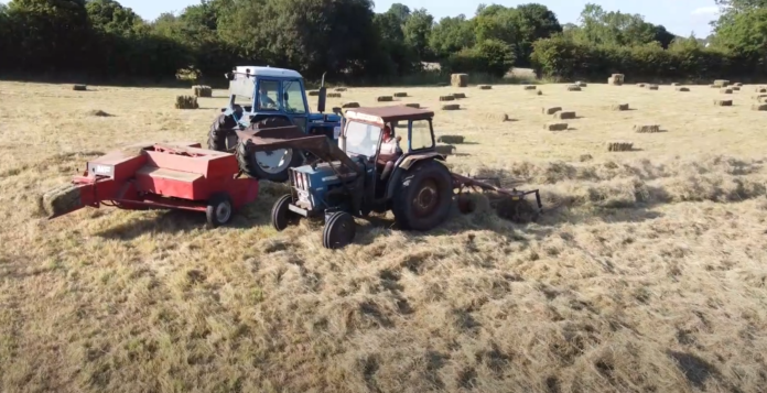 tractor videos, agricultural contracting, Ford,,