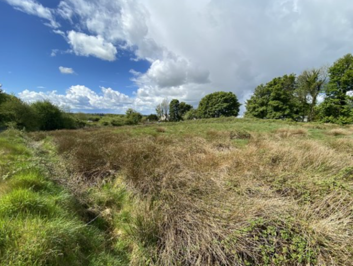 APP Kirrane Auctioneering has for sale, 10.55-acres of land in Cloontumper, Bekan, Claremorris, Co Mayo. The selling agent is guiding the lands (4.27 hectares), split by the N60 Ballyhaunis to Claremorris Road, at €60,000.