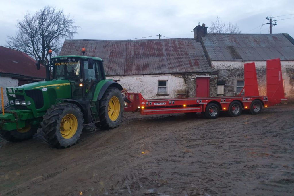 CS Agri and Plant Hire offer services including hedge-cutting, mulching, sawing, low-loader haulage, dump trailer hire and concrete work in Meath