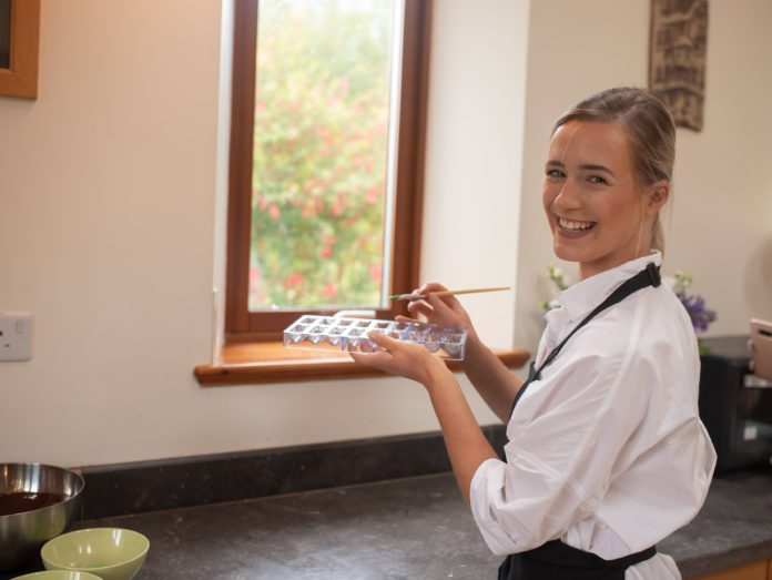 Gráinne Mullins, Co Galway, holder of the Eurotoques Young Chef of the Year title, set up Grá Chocolates during the Covid-19 pandemic.