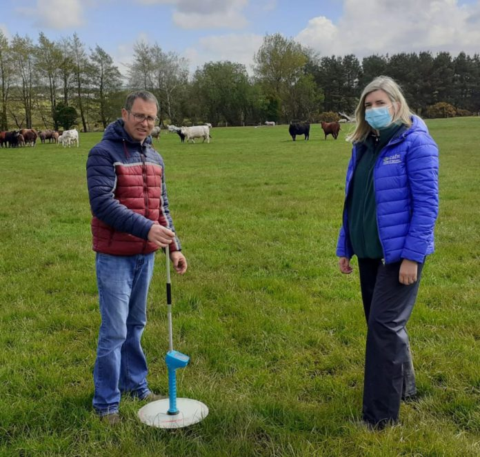 Grassland management is to the fore on John McHenry's mixed enterprise in Mosside, Co. Antrim. He is one of two Beef Technology Demonstration farms focusing on grassland management.