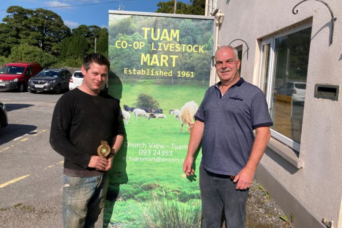 Report (prices) from Marion Devane from sheep sale (cull and breeding ewes, ewe lambs, and ewe hoggets held at Tuam Mart on 24-08-2021.