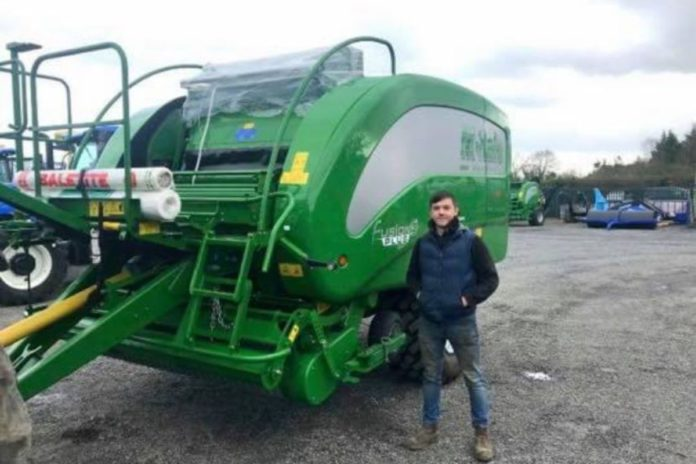 Feerey Agri, located in County Westmeath, has been in business for over 20 years and serves a 20-mile radius of Tyrellspass. The owner of Feerey Agri, John Feerey, passed away last Christmas, and his son, William, now runs the business.
