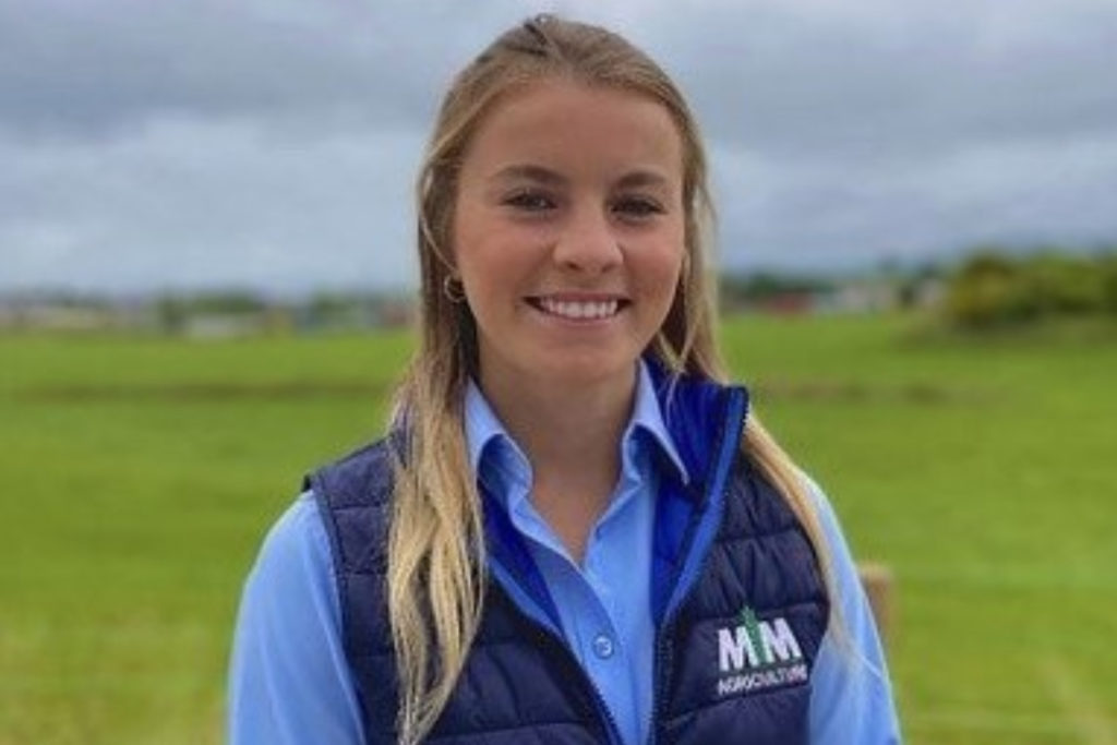 Lauren Henry is a Harper Adams graduate and dairy farmer, involving in the running of her family's 160-cow enterprise in Northern Ireland.