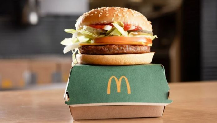McDonald's has added McPlant, its first-ever plant-based burger, to menus in select outlets in Ireland and the UK. The global food giant is offering a vegan burger following three years of research and development with Beyond Meat. Its trials will begin in ten restaurants in Coventry later this month, with an additional 250 outlets to follow from October.