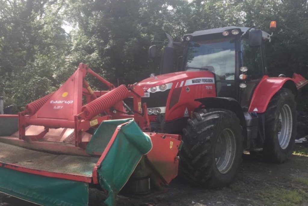 Clement Heaslip Agri Contractors offers plant hire, site clearances, hedge-cutting, round baling, slurry spreading and reseeding.