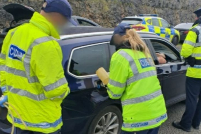 Gardaí in Offaly issued fines amounting up to €14,000 to motorists driving on 'green' agricultural diesel in recent days. Members from Portlaoise and Tullamore Garda stations, along with customs and the RSA, conducted a multi-agency checkpoint on the M7 at Derryvorrigan, Borris-in-Ossory on October 12th.