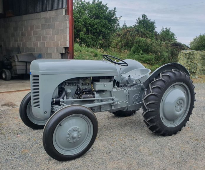 It takes patience, dedication, and unwavering attention to detail to restore a tractor to the standards of Ferguson TE20 owner, Colin Taylor. He was always searching for an early TE20 from his home in County Down, Northern Ireland, and eventually stumbled across one in Norfolk.